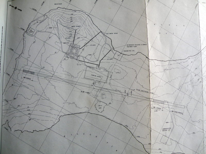 Marble Point plan map