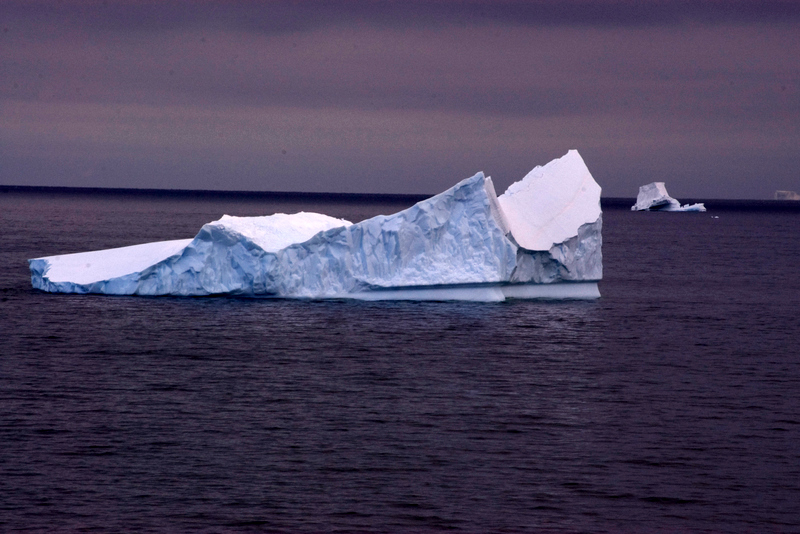 iceberg from the Oden